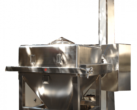 PILLAR TYPE BIN BLENDER